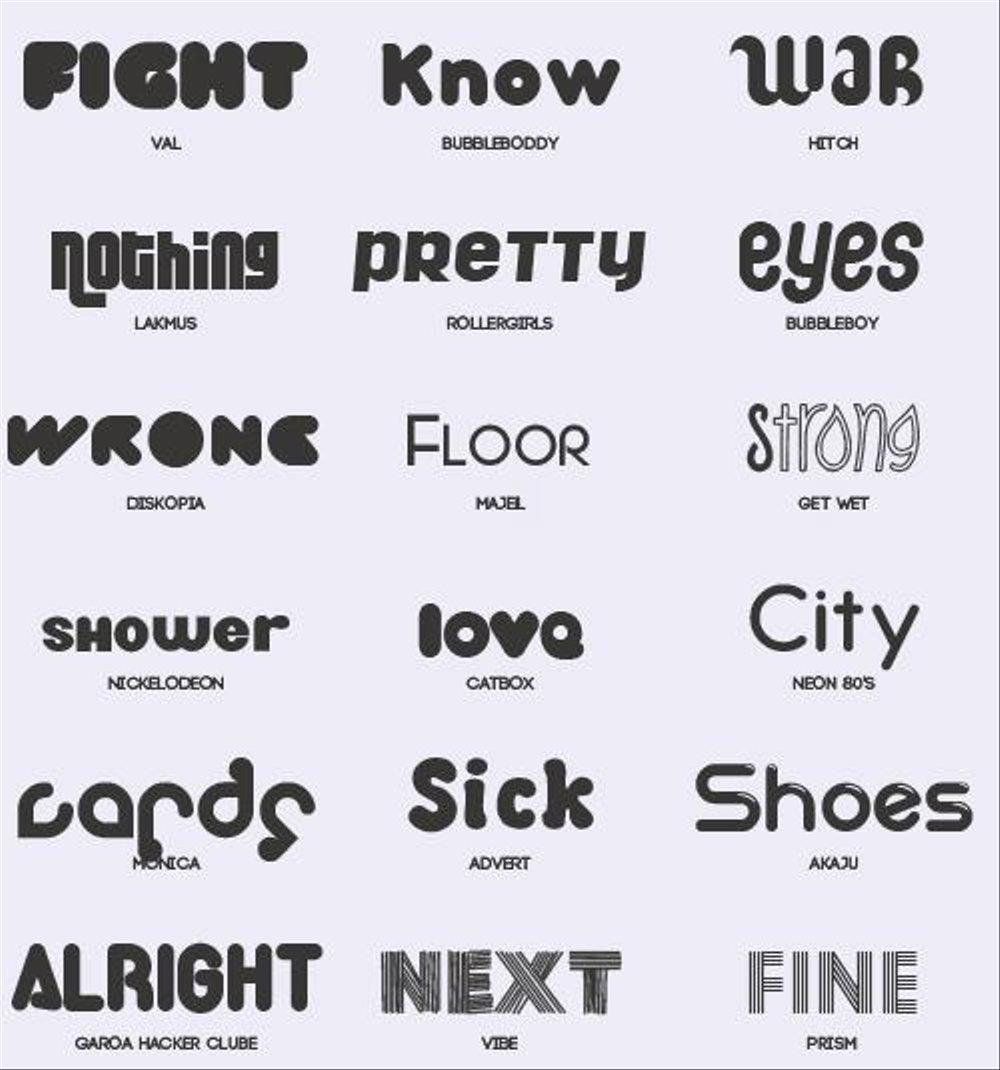 Tips Jasa Pembuatan Font Huruf